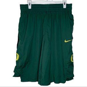 Nike Dry Fit Oregon Ducks Basketball Shorts L